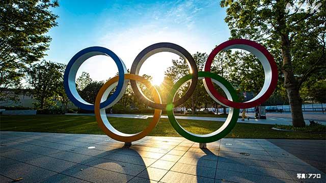 オリンピックの緊張感